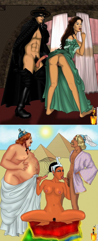 famous-movie-stars-as-cartoons-adult-sex-comics