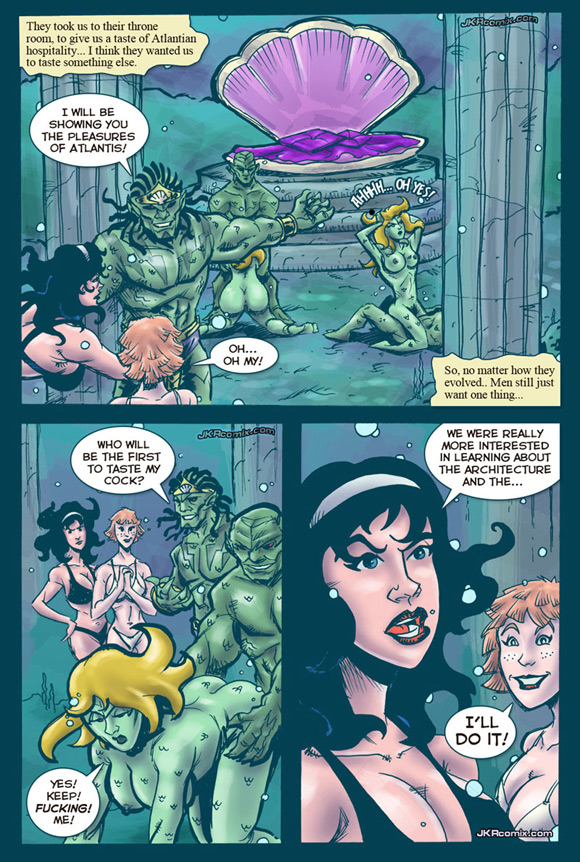 going-down-in-atlantis-adult-sex-comics